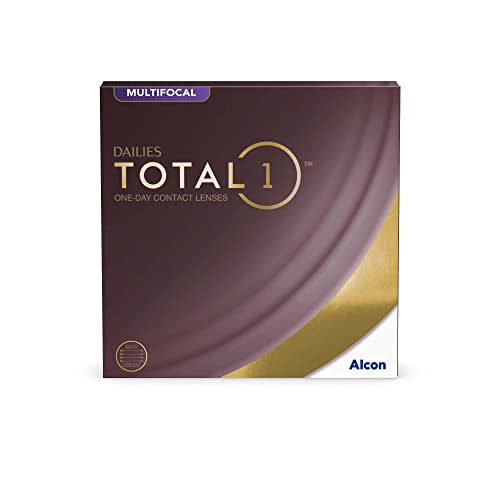 Alcon Dailies Total 1 Multifocal Tageslinsen weich, 90 Stück / BC 8.6 mm / DIA 14.1 mm / ADD HIGH / +1 Dioptrien von Alcon
