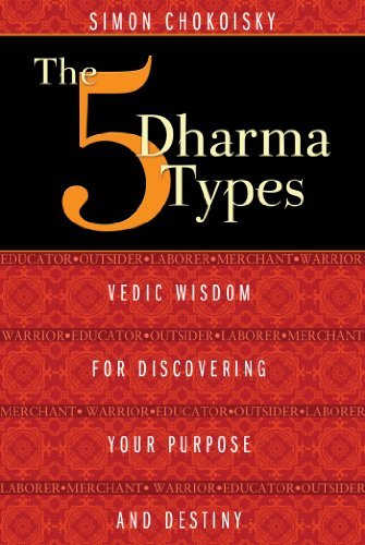 The Five Dharma Types: Vedic Wisdom for Discovering Your Purpose and Destiny von Destiny Books