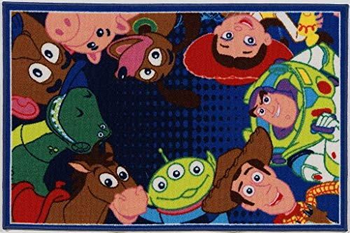 Disney Teppich A.L. Toy Story Ts06 blau/Mehrfarbig Size is not in Selection DE von Disney