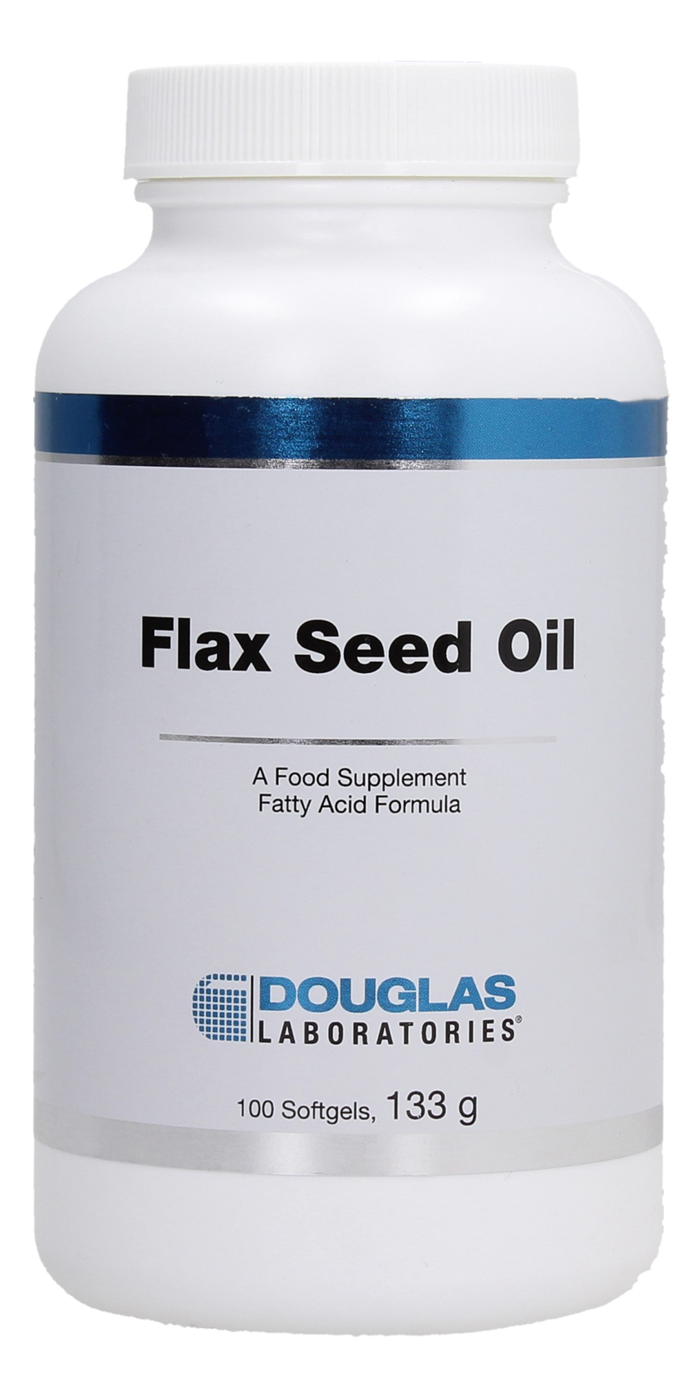 Douglas Laboratories Organic Flax Seed Oil - 100 Softgels von Douglas Laboratories