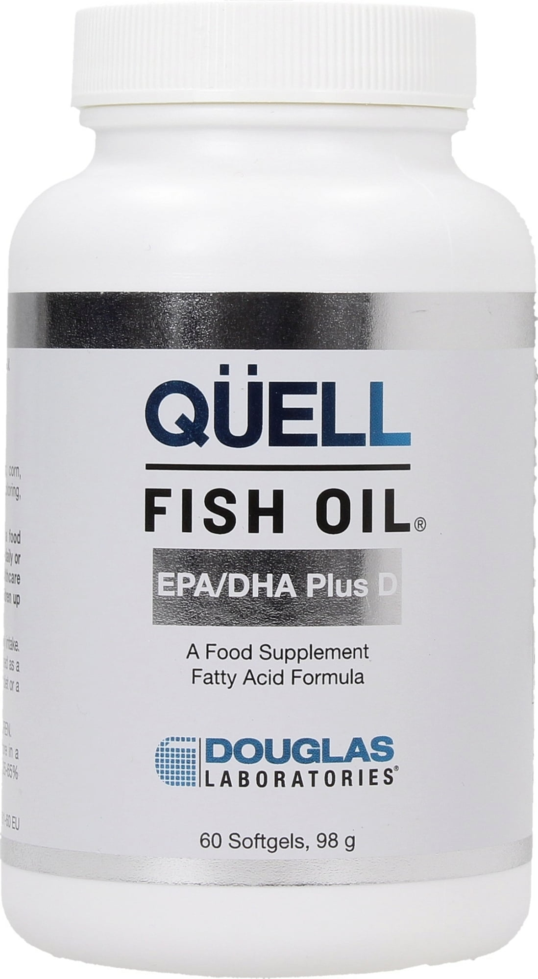 Douglas Laboratories QÜELL Fish Oil™ High EPA + DHA mit Vitamin D3 - 60 Softgels von Douglas Laboratories