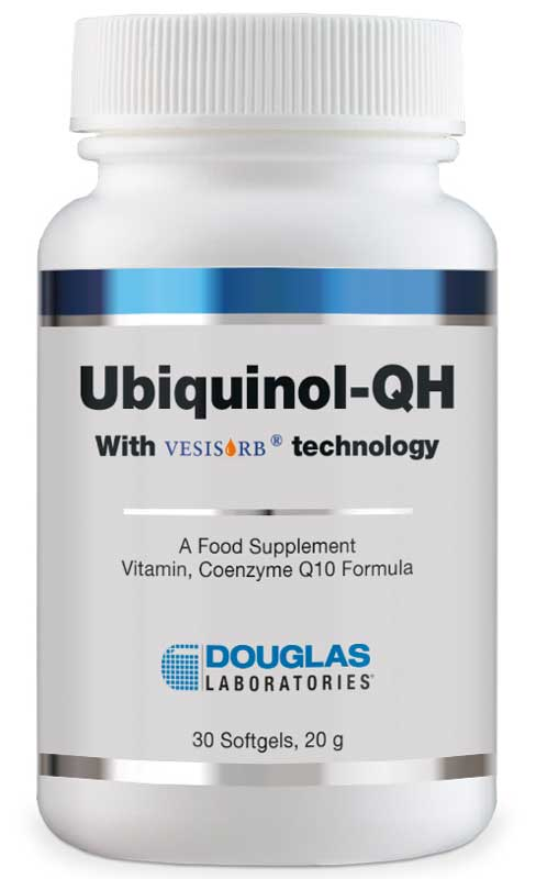 Douglas Laboratories Ubiquinol-QH - 30 Softgels von Douglas Laboratories