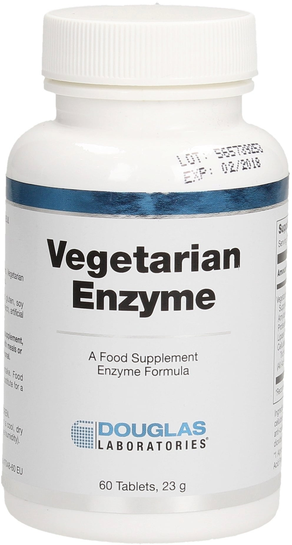 Douglas Laboratories Vegetarian Enzyme - 60 Tabletten von Douglas Laboratories