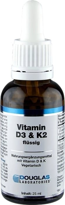 Douglas Laboratories Vitamin D3 & K2 Tropfen - 25 ml von Douglas Laboratories