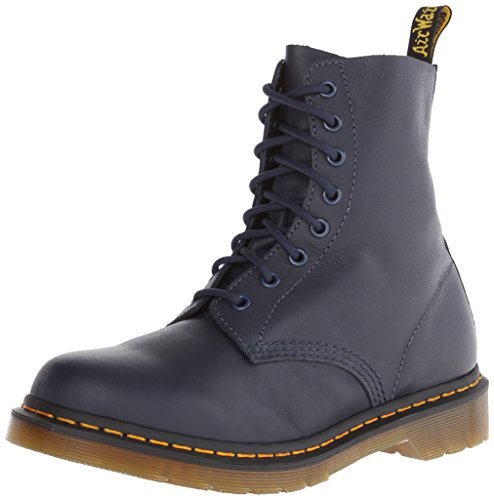 Dr. Martens PASCAL Virginia DRESS BLUE Damen Combat Boots, Blau (Dress Blue), 36 EU (3 UK) von Dr. Martens