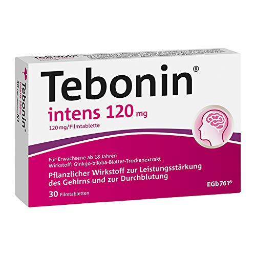 Tebonin intens 120 mg Tabletten, 30 St. von Dr.Willmar Schwabe GmbH & Co.K