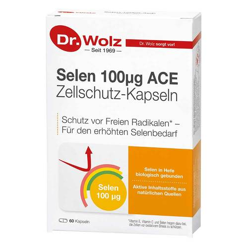 Selen ACE 100 µg 60 Tage von Dr. Wolz