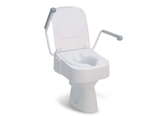 Drive Medical mit Armlehne, Toilettensitzerhöhung TSE 150, weiß von Drive Medical