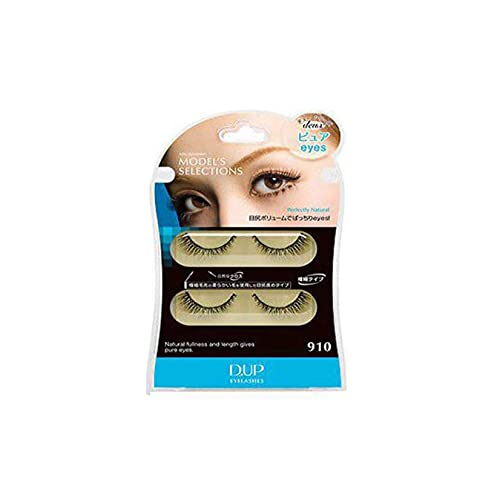 D.U.P False Eyelashes Deux - Pure Eyes 910 (Green Tea Set) von Dup