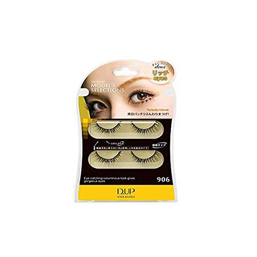D.U.P False Eyelashes Deux - Rich Eyes 906 (Green Tea Set) von Dup