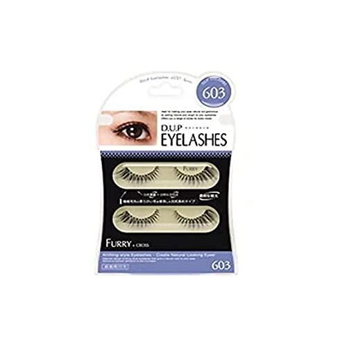 D.U.P False Eyelashes - Furry 603 (Green Tea Set) von Dup