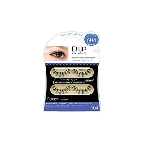 D.U.P False Eyelashes - Furry 604 (Green Tea Set) von Dup
