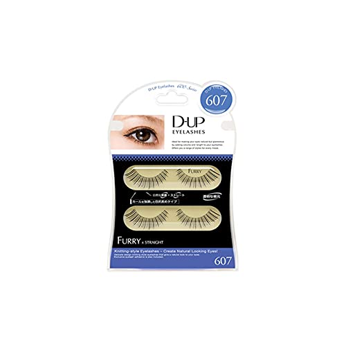 D.U.P False Eyelashes - Furry 607 (Green Tea Set) von Dup