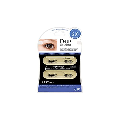 D.U.P False Eyelashes - Furry 610 (Green Tea Set) von Dup