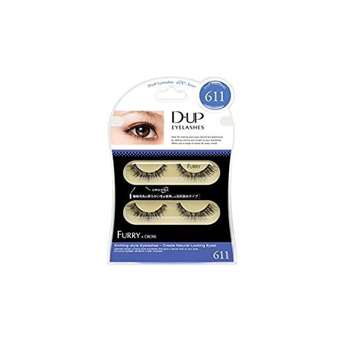D.U.P False Eyelashes - Furry 611 (Green Tea Set) von Dup