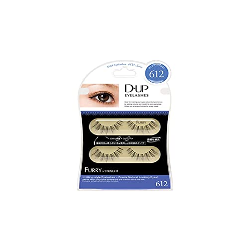D.U.P False Eyelashes - Furry 612 (Green Tea Set) von Dup