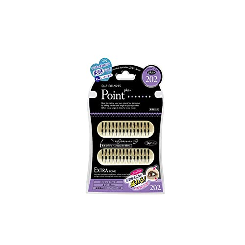D.U.P False Eyelashes - Point Plus 202 (Green Tea Set) von Dup