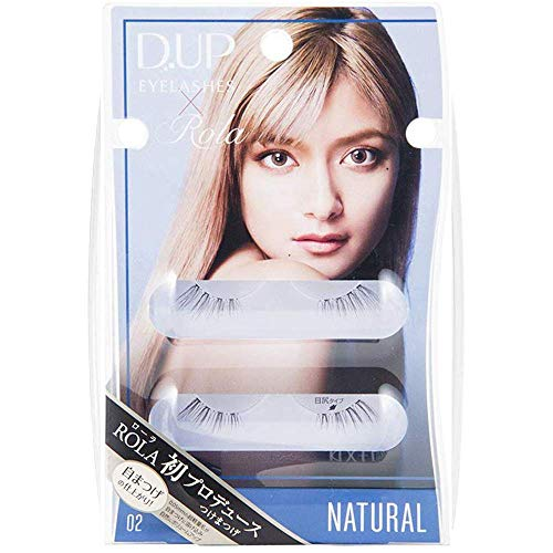 D.U.P False Eyelashes ROLA Collection Natural 02 (Green Tea Set) von Dup