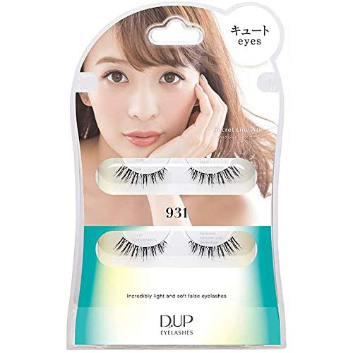D.U.P False Eyelashes Secret Line Air - Cute Eyes 931 (Green Tea Set) von Dup