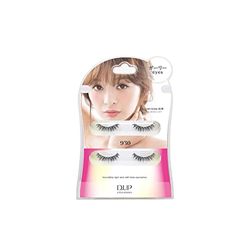 D.U.P False Eyelashes Secret Line Air - Girly Eyes 930 (Green Tea Set) von Dup