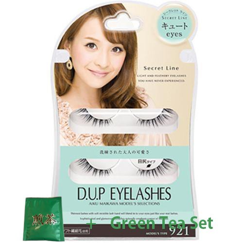 D.U.P False Eyelashes Secret Line - Cute Eyes 921 (Green Tea Set) von Dup