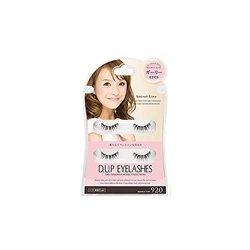D.U.P False Eyelashes Secret Line - Girly Eyes 920 (Green Tea Set) von Dup