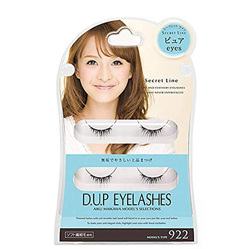 D.U.P False Eyelashes Secret Line - Pure Eyes 922 (Green Tea Set) von Dup