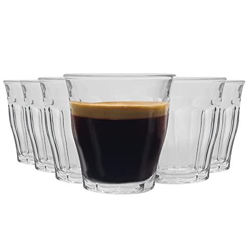 Duralex 4001AR06A1111 Amalfi Bockbecher, Kaffeebecher