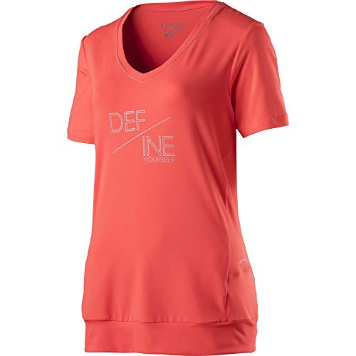 ENERGETICS Damen Gapela 4 T-Shirt, Red Light, 38 von ENERGETICS