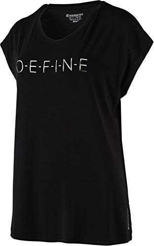 ENERGETICS Damen Gerda 4 T-Shirt, Black, 36 von ENERGETICS