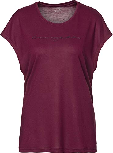 ENERGETICS Damen Gerda 6 T-Shirt, Red Wine, 42 von ENERGETICS