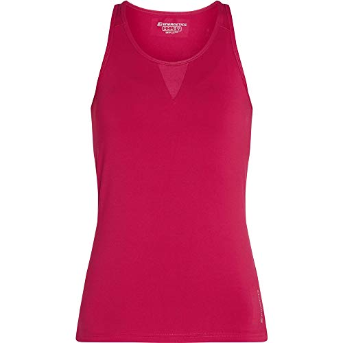 ENERGETICS Damen Giselle 4 Tank-Shirt, Red Wine, 38 von ENERGETICS