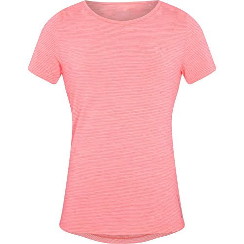 ENERGETICS Damen Gora T-Shirt, Melange/Red Light, 44 von ENERGETICS