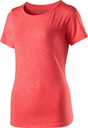 ENERGETICS Damen Gora T-Shirt, Red Light/Melange, 40 von ENERGETICS