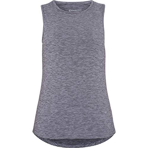 ENERGETICS Damen Goraline Tankshirt, Black Night/Melange, 38 von ENERGETICS