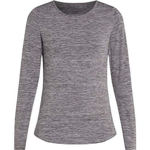 ENERGETICS Damen Goralunga WMS T-Shirt, Black Night/Melange, 50 von ENERGETICS