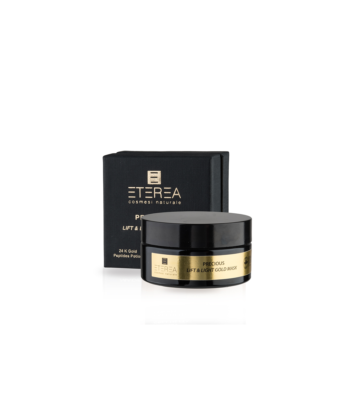 ETEREA Cosmesi Naturale Precious Lift & Light Gold Mask - 100 ml von ETEREA Cosmesi Naturale