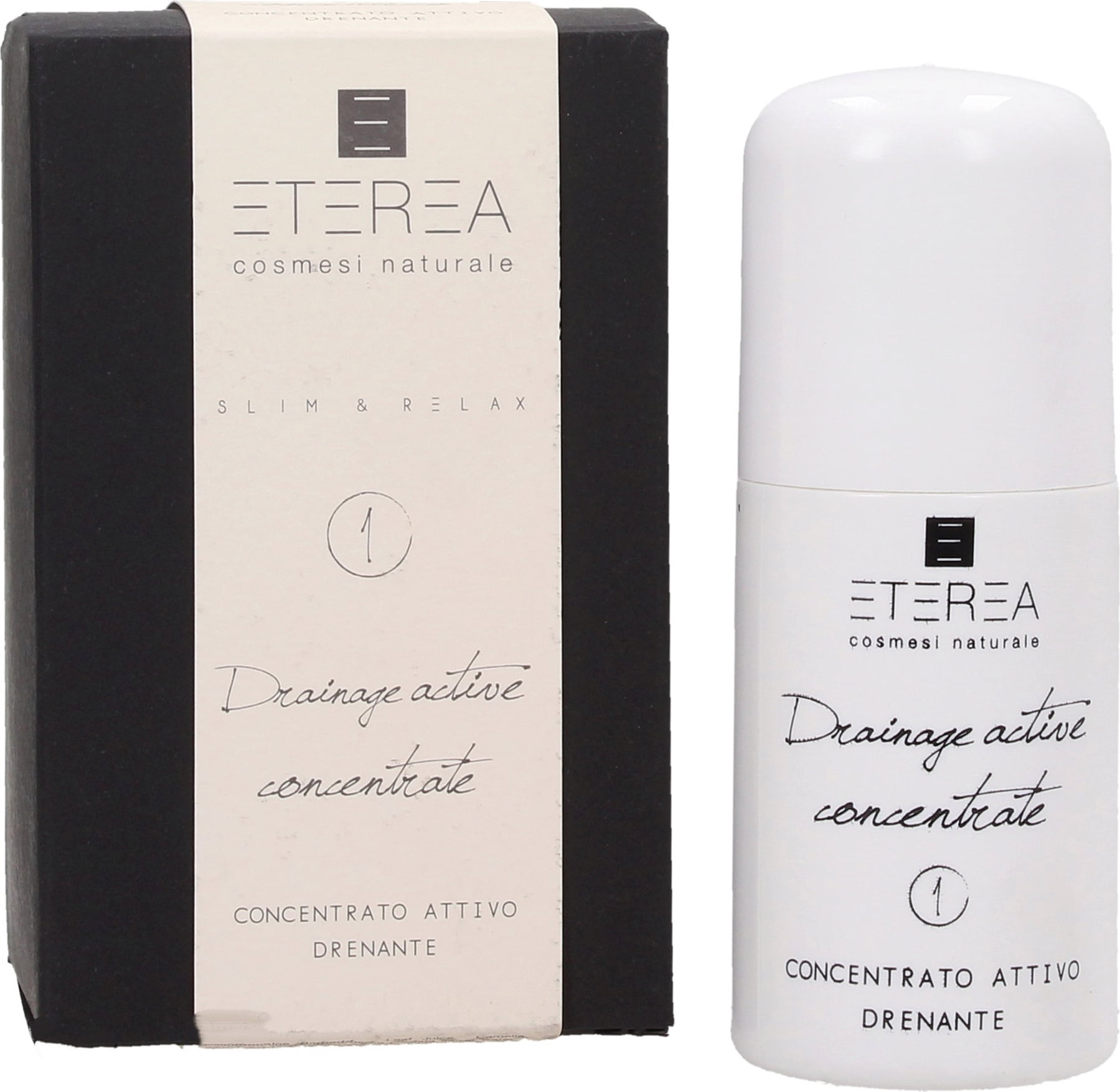 ETEREA Cosmesi Naturale Slim & Relax Drainage Active Concentrate - 50 ml von ETEREA Cosmesi Naturale