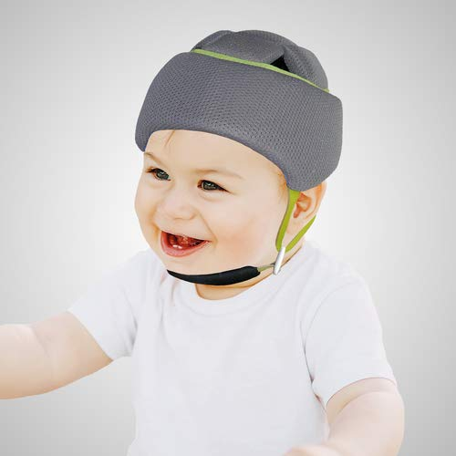 Emo - Kids Headgear Grey Size 42 von Emo