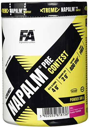 FITNESS AUTHORITY FA Napalm Pre Contest Exotic, 500 g von Fitness Authority