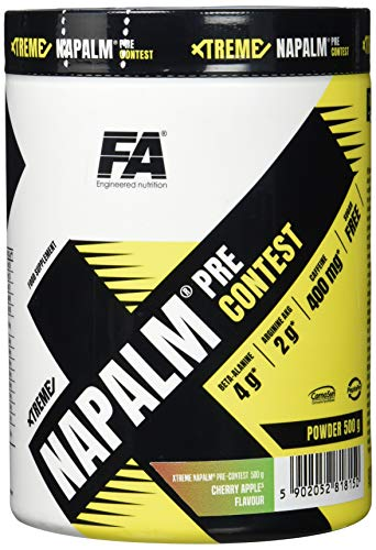 FA Nutrition Xtreme Napalm Pre-contest - 500g - Kirsche-Apfel - Pre-workout booster von Fitness Authority
