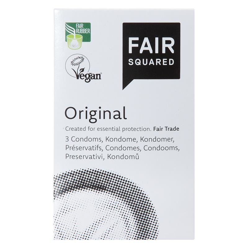 Fair Squared Original 3 vegane Kondome von FAIR SQUARED