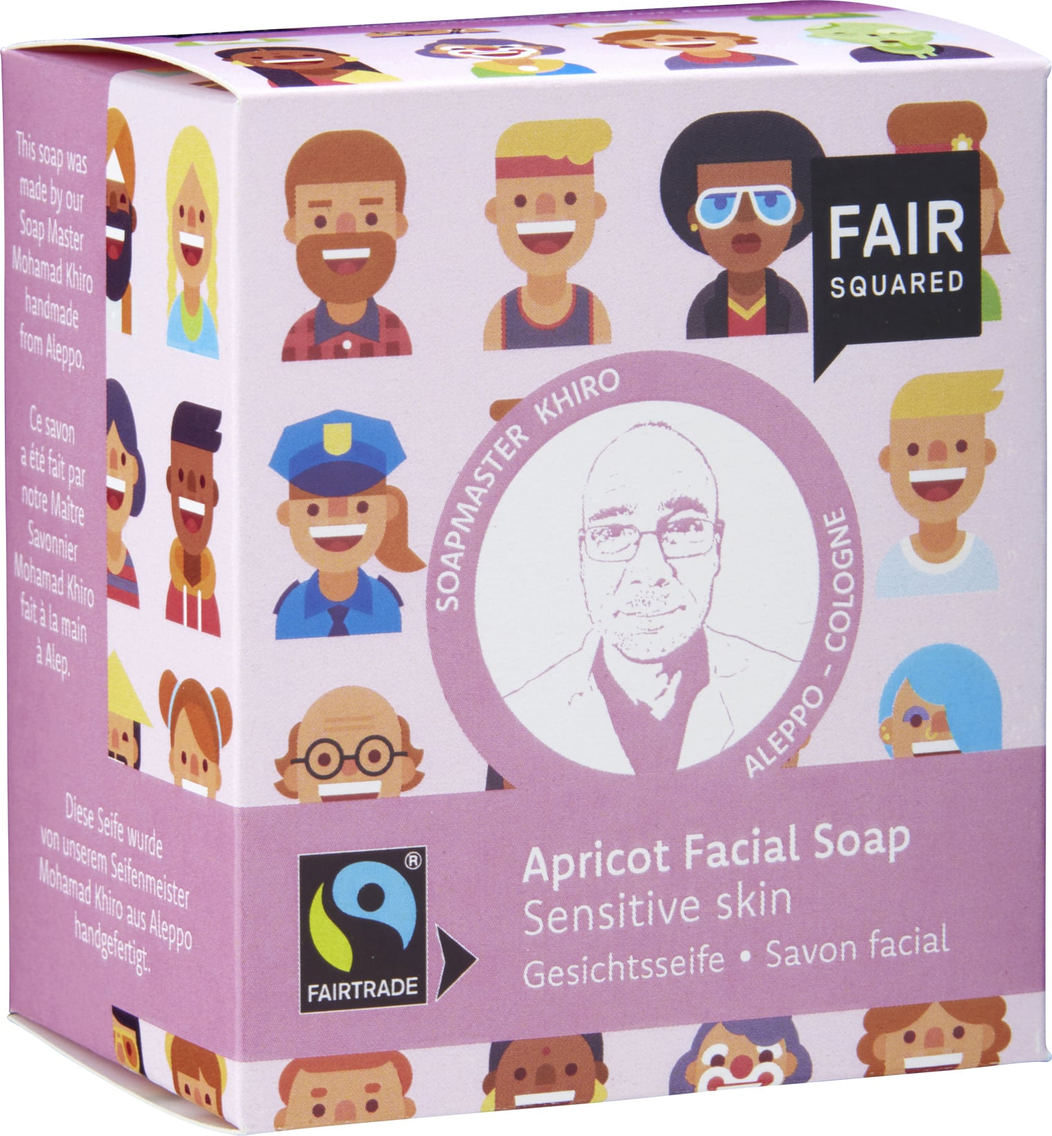 FAIR Squared Facial Soap Apricot - 160 g von FAIR Squared