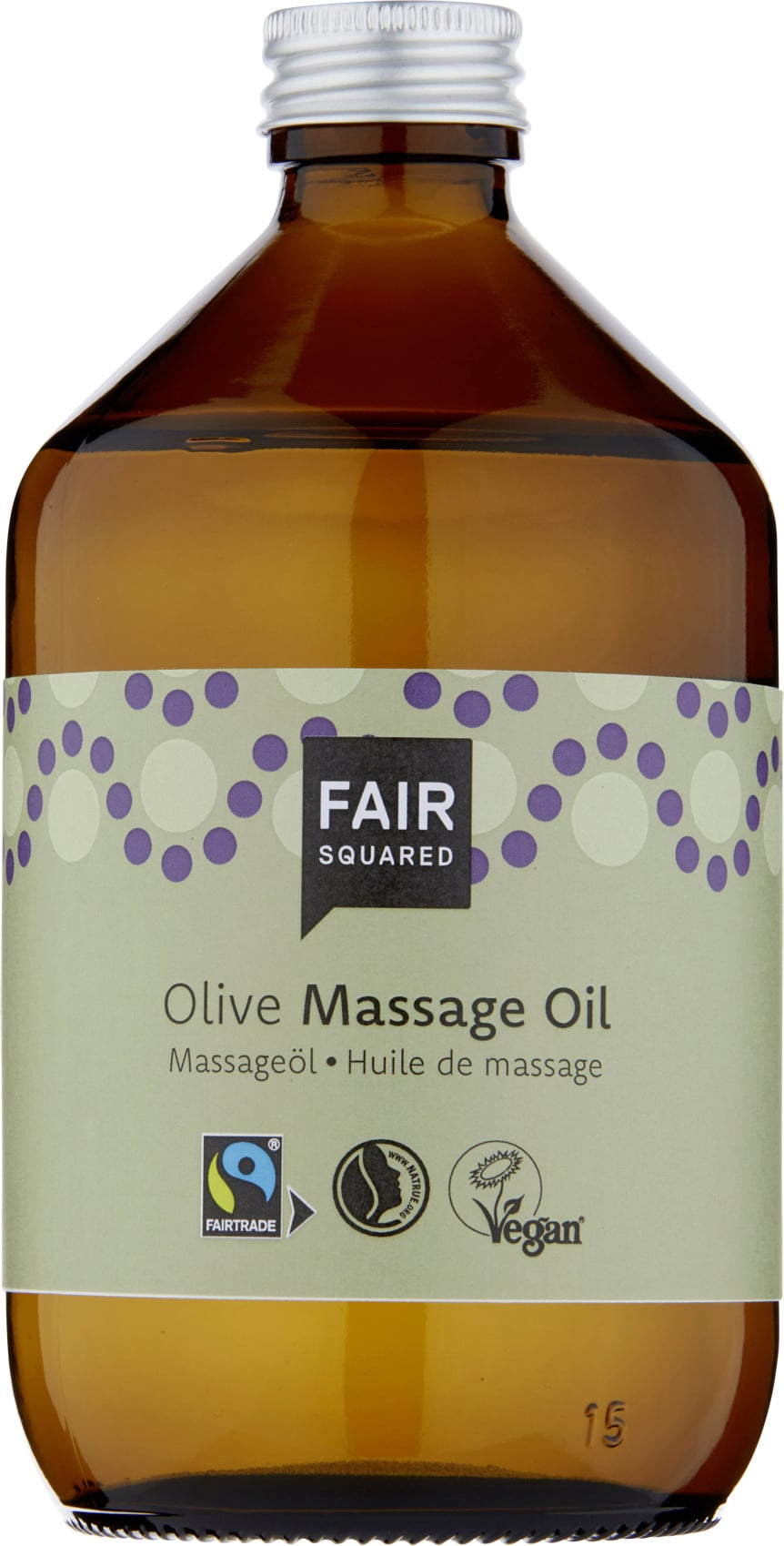 FAIR Squared Massage Oil Olive - 500 ml von FAIR Squared