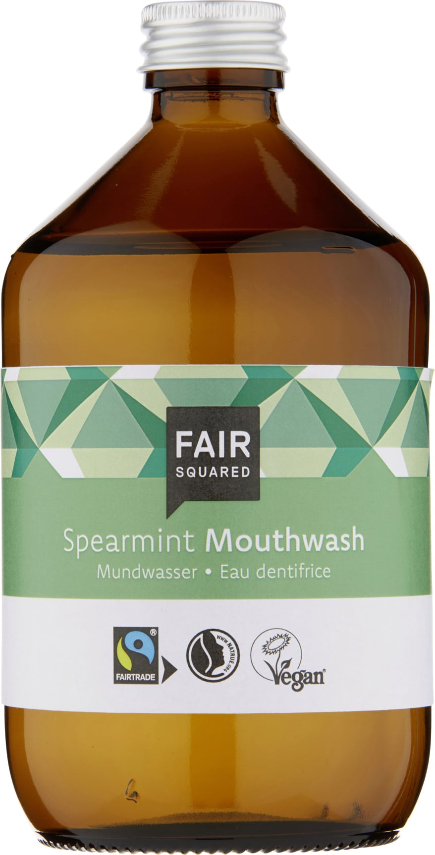 FAIR Squared Mouthwash Spearmint - 500 ml von FAIR Squared