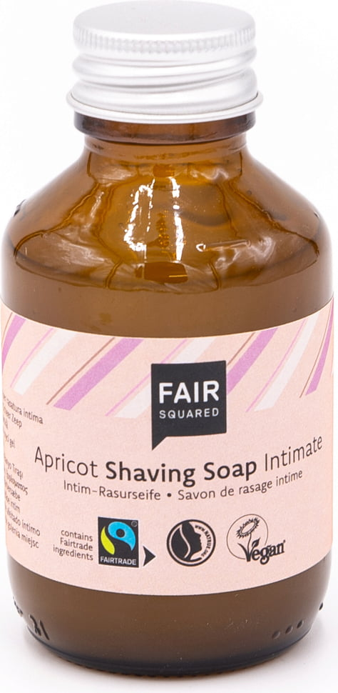 FAIR Squared Shaving Soap Apricot - 100 ml von FAIR Squared