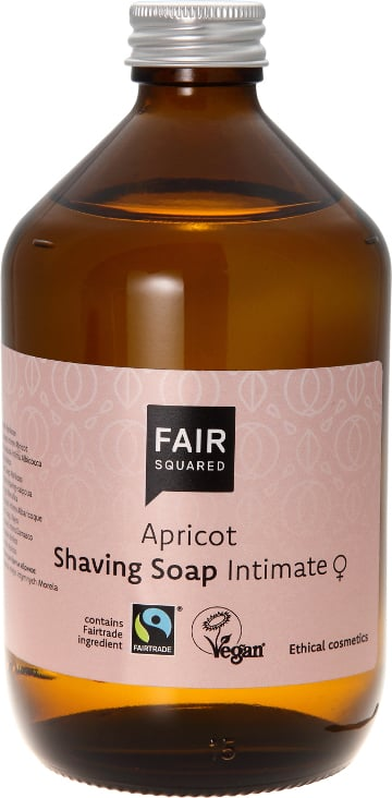 FAIR Squared Shaving Soap Apricot - 500 ml von FAIR Squared