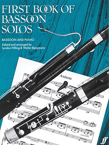 First Book Of Bassoon Solos: (Complete) (Faber Edition) von Faber & Faber