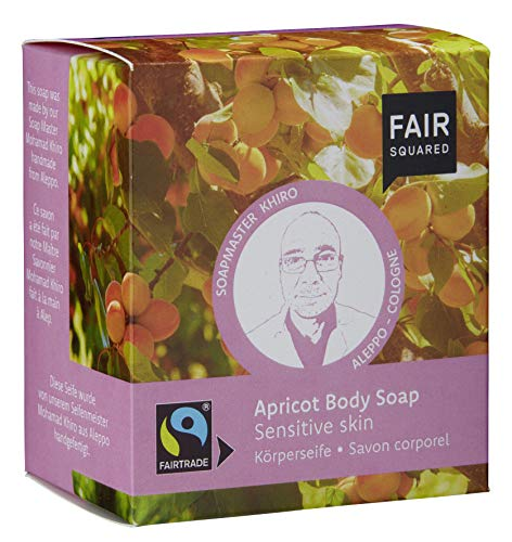 FAIR SQUARED Apricot Body Soap Sensitive Skin 2x80gr. von Fair Squared