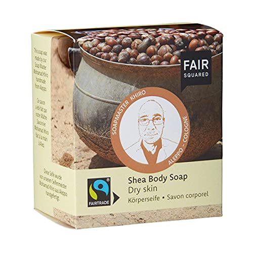FAIR SQUARED Shea Body Soap Dry Skin 2x80gr. von Fair Squared